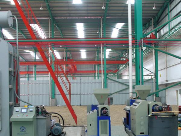 昊旺环保滤板生产车间